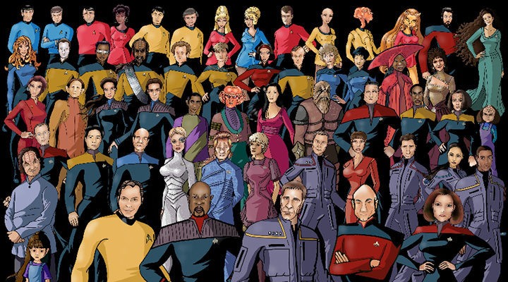 Tripulaciones Star Trek