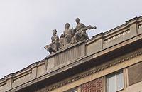 Representación alegórica de la música en Varsovia
