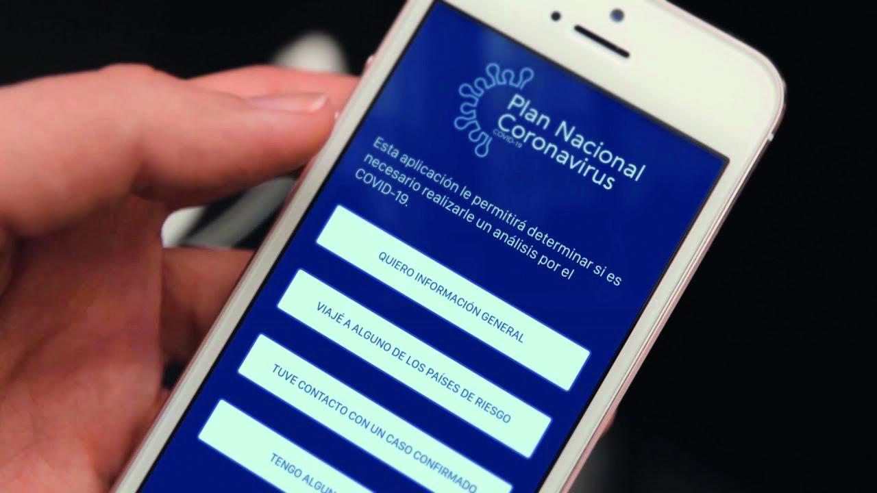 App Coronavirus Uruguay