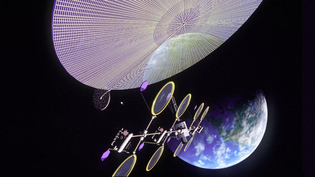 Estaciones de energía solar en el espacio