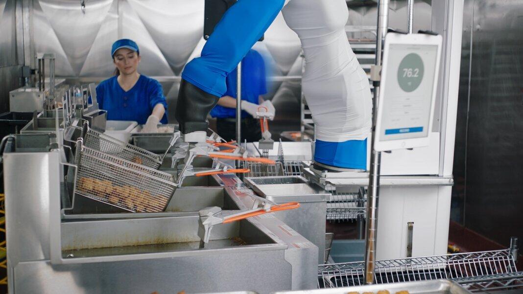 Robot de hamburguesas