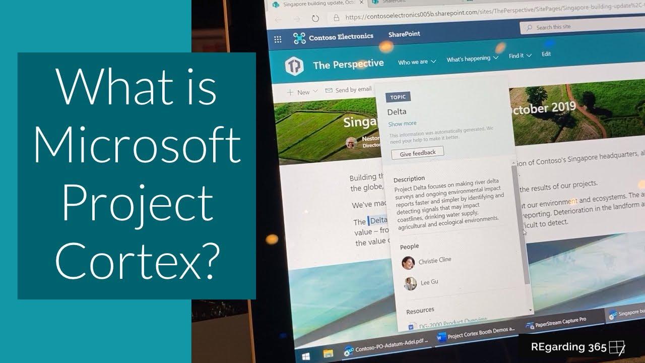 Microsoft Project Cortex