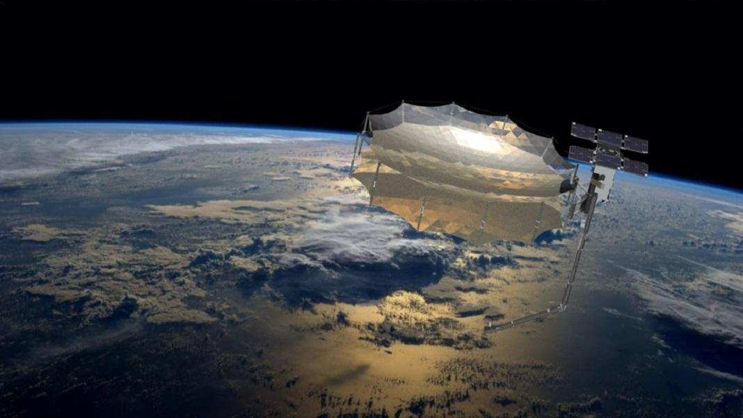 Capella-2-SAR-Satellite-Rendering